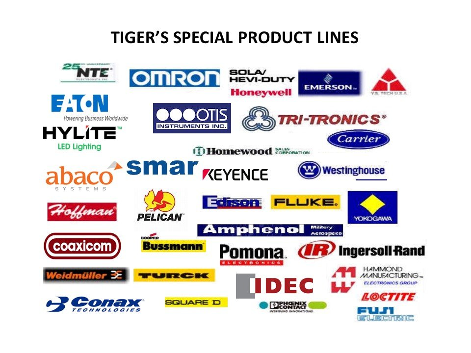 Manufacturers Product Lines